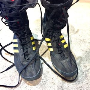 Mens wrestling/boxing shoes